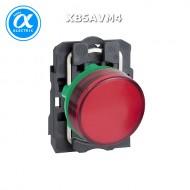 [슈나이더]XB5AVM4 /파일럿램프/플라스틱 베젤 AC220V 적색