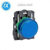[슈나이더]XB5AVM6 /파일럿램프/플라스틱 베젤 AC220V 청색