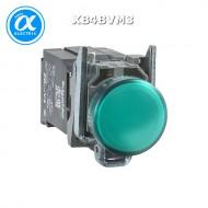 [슈나이더]XB4BVM3 /파일럿램프/메탈 베젤 AC220V 녹색
