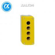 [슈나이더]XALK04 /스위치박스 4구 황색