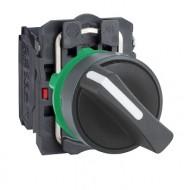 [슈나이더]XB5AD25 /셀렉터 스위치/플라스틱 베젤 일체형 2단 1A1B접점
