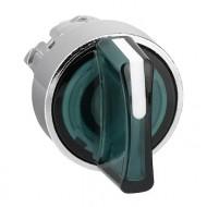 [슈나이더]ZB5AK1333 /조광셀렉터 스위치/플라스틱 베젤 3단 녹색