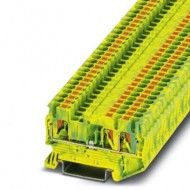 [피닉스컨택트] 3209565 / 접지 모듈형 단자대 PT 2,5-TWIN-PE / [구매단위:1패키지=50개]
