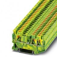 [피닉스컨택트] 3211780 / 접지 모듈형 단자대 PT 4-TWIN-PE / [구매단위:1패키지=50개]