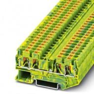 [피닉스컨택트] 3211809 / 접지 모듈형 단자대 PT 4-QUATTRO-PE / [구매단위:1패키지=50개]