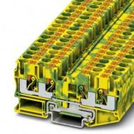 [피닉스컨택트]3212950 /접지 모듈형 단자대 PT 6-QUATTRO-PE/[구매단위:1패키지=50개]