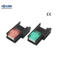[삼원ACT] EC-3S46RD / 소켓 콘넥터(EZ-Clamp) / 3P-적색(RED)-암놈 / [구매단위:1팩=100개]