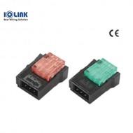 [삼원ACT] EC-4P46RD / 플러그 콘넥터(EZ-Clamp) / 4P-적색(RED)-숫놈 / [구매단위:1팩=100개]