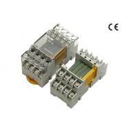 [삼원ACT] R4T-16P-S / 소형릴레이보드 / R4T-S 시리즈 / PANASONIC PA 릴레이 장착 / 양단 단자대형 / 양단 단자대형