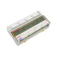 [삼원ACT]R32T-YNT /소형릴레이보드/TAKAMISAWA Relay, 32점형, 입력 및 출력 양단 단자대 부착형
