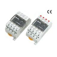 [삼원ACT] R4G-24V-E1 / 중형릴레이보드 / 4점형, Screwless Type, OMRON G6B 릴레이 장착