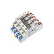 [삼원ACT]R4A-AC110VC /대형릴레이보드/4점형 접점용량10A, 1C접점, AC110V PANASONIC AHN Power릴레이 장착