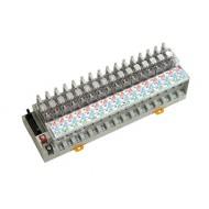 [삼원ACT]R16P-NC-DC24VC /대형릴레이보드/접점용량 10A, 1C접점, DC24V OMRON G2R 릴레이 장착