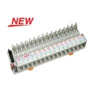 [삼원ACT]R16W-NC-DC24VC /대형릴레이보드/하이브리드 16점 릴레이보드 소켓