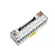 [삼원ACT]XTB-ME2 /인터페이스 단자대/MITSUBISH PLC iQ-R, Q, A1S 시리즈 32점 PLC전용 I/O 인터페이스 단자대