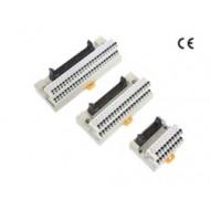 [삼원ACT]SA-1H50B /인터페이스 단자대/50P Push형 Screwless 단자대