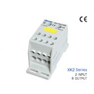 [삼원ACT]XK2-70x2/10x8 /전원분배블럭/XK2시리즈(배선형)