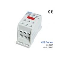 [삼원ACT]XK2-70/16x6 /전원분배블럭/XK2시리즈(배선형)