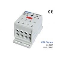 [삼원ACT]XK2-185/35x8 /전원분배블럭/XK2시리즈(배선형)