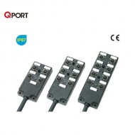 [삼원ACT] MPA-K83N-V□ / 메인케이블 일체형 M12 분기박스 / MPA 시리즈