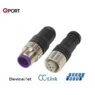 [삼원ACT] M12C-MPD-TR / 필드버스케이블 부속품 / M12콘넥터 일체형 종단저항(Male) / PROFIBUS DP