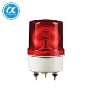 [큐라이트] S100LR / 표준형경고등(Ø100) / LED 반사경회전 경고등