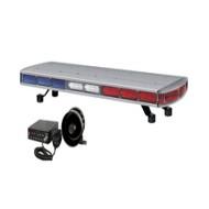 [큐라이트] QLV-885-SET / LED 스트로브 장방형 경고등 SET