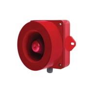 [큐라이트] QWH35SD / 벽부형 특수 경고음 전자 혼/ 115dB / MP3(SD Card) 겸용