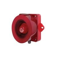 [큐라이트] QWCD35 / 신호음 내장  LED 스트로브 표시등&전자 혼 / Max.115dB