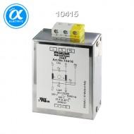 [무어] 10415 / EMC 필터 / MEF EMC-FILTER 1-PHASE 1-STAGE / I:10A U:250 VAC/300 VDC snap on / Universal filter