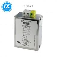 [무어] 10471 / EMC 필터 / MEF EMC-FILTER 1-PHASE 2-STAGE / I:6A U:250 VAC/300 VDC snap on / Against asymmetrical interference