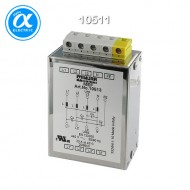 [무어] 10511 / EMC 필터 / MEF EMC-FILTER 3-PHASE 1-STAGE WITH NEUTRAL / I:6A U:4x440 VAC snap on