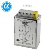 [무어] 10513 / EMC 필터 / MEF EMC-FILTER 3-PHASE 1-STAGE WITH NEUTRAL / I:20A U:4x440 VAC snap on