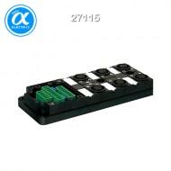 [무어] 27115 / M12 분배시스템/모듈 / MVP12, 6XM12, 5POLE, BASIC HOUSING / Without cap, with potent. sep.