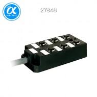 [무어] 27843 / M12 분배시스템/모듈 / PASSIVE-DI0° PLASTIC,6XM12,5POL,PRE-WIRED CABLE / 5.0m PUR-JB 12*0,34+3*0,75