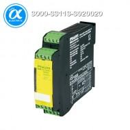 [무어] 3000-33113-3020020 / 세이프티 릴레이 / MIRO SAFE+ SWITCH BCS L 24 / 24 VAC/DC - 3 N/O contact / 1 N/C contact / 22,5 mm screw clamps