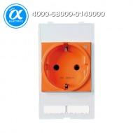 [무어] 4000-68000-0140000 / 판넬 전면 인터페이스 - 인서트 / MODLINK MSDD SOCKET INSERT GERMANY / 250VAC/16A orange