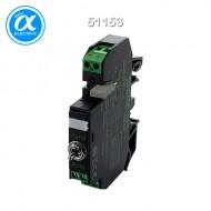 [무어] 51153 / 릴레이 모듈 / RMMDAH-CTL 11/24 OUTPUT RELAY WITH TOGGLE SWITCH / IN: 24 VDC - OUT: 250 VAC/DC / 8 A / 1 C/O contact - 12 mm screw-type terminal