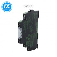 [무어] 52003 / 릴레이 모듈 / MIRO 6.2.24V-1U INPUT RELAY / IN: 24 VAC/DC - OUT: 250 VAC/DC / 6 A / 1 C/O contact - 6,2 mm screw-type terminal
