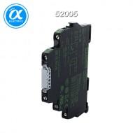 [무어] 52005 / 릴레이 모듈 / MIRO 6.2 24VDC-1U INPUT RELAY / IN: 24 VDC - OUT: 250 VAC/DC / 6 A / 1 C/O contact - 6,2 mm screw-type terminal