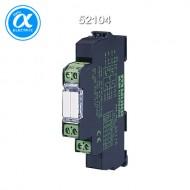 [무어] 52104 / 릴레이 모듈 / MIRO 12.4 24V-2S OUTPUT RELAY / IN: 24 VAC/DC - OUT: 250 VAC/DC / 6 A / 2 N/O contact - 12,4 mm screw-type terminal