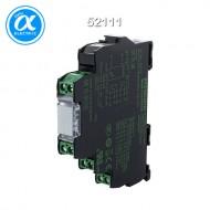 [무어] 52111 / 릴레이 모듈 / MIRO 12.4 24V-2U INPUT RELAY / IN: 24 VAC/DC - OUT: 250 VAC/DC / 6 A / 2 C/O contact - 12,4 mm screw-type terminal
