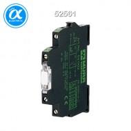 [무어] 52561 / 옵토커플러(Triac) / MIRO 6.2MM OPTO-COUPLER MODULE WITH ISOLATION LINK / IN: 53 VDC - OUT: 250 VAC / 0,5A / 6,2 mm screw-type terminal