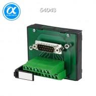[무어] 54043 / 패시브 인터페이스 - SUB-D/Female 커넥터 / SV-SUB D 37 .-KL  FOR SIGNAL TRANSFER / 125 VAC/DC / 2 A / mounting rail / screw-type terminal