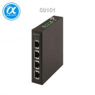 [무어] 58151 / 스위치/Unmanaged Switch / TREE 4TX Metal - Unmanaged Switch - 4 Ports / 4× RJ45 포트 - unmanaged 스위치