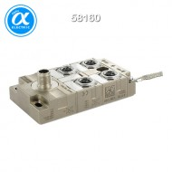 [무어] 58160 / 스위치/Unmanaged Switch / Tree 4TX IP67 Metal - Unmanaged Switch - 4xM12 / 4× M12 (female) 포트 / 1× M12 (male) - unmanaged 스위치