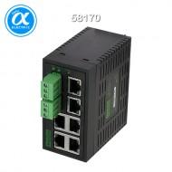 [무어] 58170 / 스위치/Unmanaged Switch / TREE 6TX ECO - UNMANAGED SWITCH - 6 PORTS / 6× RJ45 포트 - unmanaged 스위치
