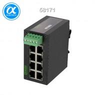 [무어] 58171 / 스위치/Unmanaged Switch / TREE 8TX METALL - UNMANAGED SWITCH - 8 PORTS / 8× RJ45 포트 - unmanaged 스위치