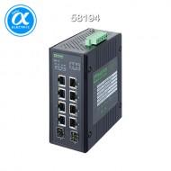 [무어] 58194 / 스위치/Unmanaged Switch((PoE) / 10 Port unmanaged Gigabit Switch 4 PoE 2 SFP Ports IP20 metal / 10 (4PoE, 2SFP) port  - 기가비트 - unmanaged switch