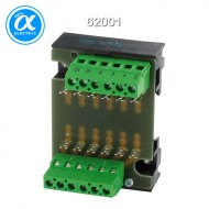 [무어] 62001 / 컨트롤 모듈 - 조립 모듈 / ASSEMBLY MODULE MP 6 / Mounting rail / screw-type terminal